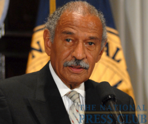 Rep. John Conyers, (D-MI), Chair, House Judiciary Committee, addresses a Press Club Luncheon on July 24, 2009.Photo: Gregory Tinius
