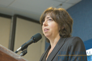 Elisa Massimino, CEO of Human Rights First.Photo: Michael Foley
