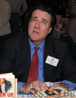Craig Crawford at the 2009 National Press Club Book Fair & Authors' Night.Photo: Gregory Tinius