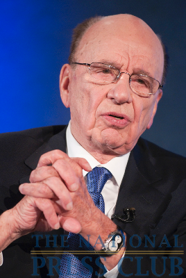 News Corp. Chairman and CEO Rupert Murdoch joins Marvin Kalb at the National Press Club for the Kalb Report, Apr. 6, 2010. Mr. Murdoch stated that online content is not...