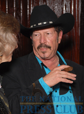 Kinky Friedman at the 2009 National Press Club Book Fair & Authors' Night.Photo: Gregory Tinius