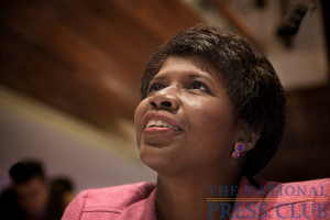 Gwen Ifill at the Book Fair and Authors night, National Press Club.Photo: Michael Foley