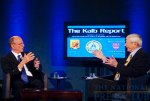Mssrs. Kalb and Murdoch discuss the political leanings of various media outlets during the Apr. 6, 2010 Kalb Report at the National Press Club. News Corp. CEO Murdoch stressed that...