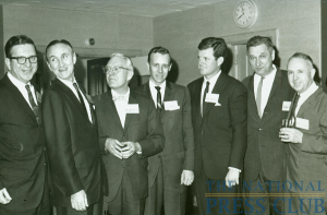 NPC President Bryson Rash and member Don Larrabee, with the Senator in 1963.Date: August 26, 2009