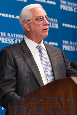 Dr. Edward Miller, Dean and CEO of Johns Hopkins Medicine discusses the new health care law at a June 21, 2010 National Press Club Luncheon. Dr. Miller also described how...