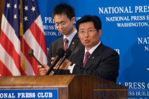 Captain Wei takes control of the NPC Gavel to emphasize his point.Photo: Noel St. John
