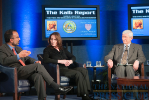 Washington Post senior correspondent and associate editor, Rajiv Chandrasekaran describes his experiences reporting from the war zones in Iraq and Afghanistan during a March 8 Kalb Report at the National...