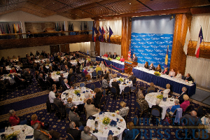 The ballroom at the National Press Club, venue for the Dr. Cortese, Mayo Clinic luncheon.Photo: Michael Foley