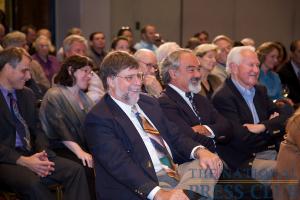 NPC members enjoy anecdotes from the panel.Photo: Michael Foley