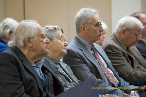 Audience members at the newsmaker.Photo: Michael Foley