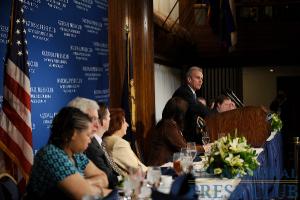 Terrence Jones NPC Luncheon, March 23, 2009.Photo: Christy Bowe