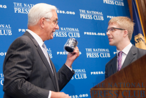 Dr. Edward Miller, Dean and CEO of Johns Hopkins Medicine discusses the new health care law at a June 21, 2010 National Press Club Luncheon. Dr. Miller accepted the traditional...