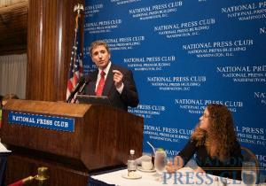 Dr. Cortese and Donna Leinwand, President, NPC.Photo: Michael Foley