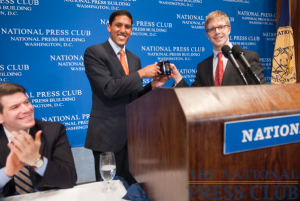 Rajiv Shah, administrator of USAID, discusses the U.S. response to disasters in Haiti and elsewhere and the outlook for international development at a June 18, 2010 National Press Club Luncheon....