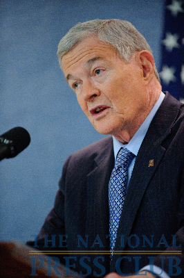 Senator Kit Bond Critiques President's New Strategy for Afghanistan-PakistanPhoto: Sam Hurd