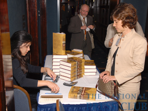 "Book sales were brisk at the launch of John Maxwell Hamilton's ""Journalism's Roving Eye: A History of American Foreign Reporting,"" co-sponsored by The International Correspondents' Committee with the International Center..."