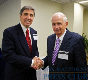 Dr. Cortese with Mr. Bill Marriott, CEO of Marriott International.Photo: Michael Foley