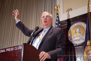 Offering his historical views of the current conservative movement, FreedomWorks Chairman Dick Armey describes state of Republican Party today.Photo: Terry Hill