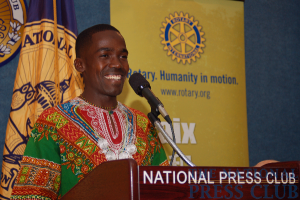Maasai warrior Wilson Kimeli Naiyomah, who witnessed the Sept. 11, 2001 terrorist attack on New York, shares the inspirational story of his Kenyan village's outpouring of compassion as described in...