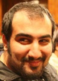 Iranian blogger Kouhyar Goudarzi.