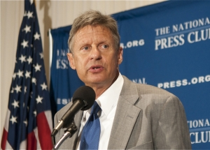 Former New Mexico Gov. Gary Johnson, a Republican presidential candidate