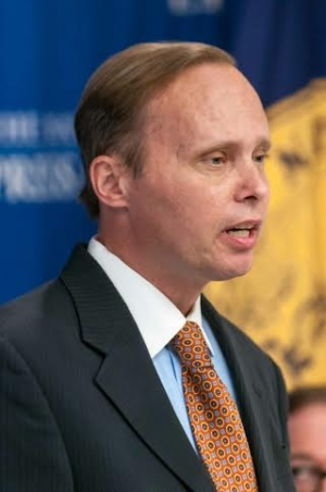 Bill Piper, director, Drug Policy Alliance office of national affairs speaks at a National Press Club Newsmaker, July 24, 2014.