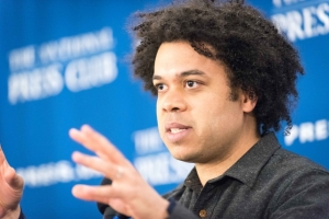 "Micah White, co-founder of the Occupy Wall Street Movement discusses the changing nature of protest.  White said, ""The only way to gain sovereignty is to win elections or win wars."""
