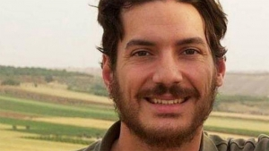 Austin Tice is a journalist who was taken in August 2012 while covering the conflict in Syria.