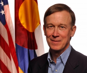 Former Colorado Gov. John Hickenlooper to speak June 13 in the First Amendment Lounge.