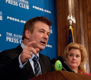 Actor and arts activist Alec Baldwin calls for more arts funding at National Press Club luncheon. Club President Theresa Werner moderates Q&A.