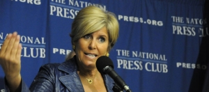 Suze Orman calls for changes to credit rules at Jan. 12, 2012 Newsmaker at the National Press Club.