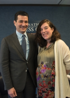 npc luncheon dr scott gottlieb