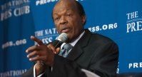 Marion Barry at the National Press Club