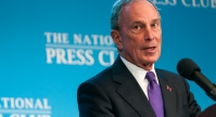Michael R. Bloomberg speaks at John Hughes inauguration
