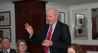 Dinner with Former White House Press Secretary Mike McCurry