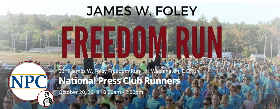Run (or Walk) (or Donate) for Press Freedom Oct. 20 | National Press Club