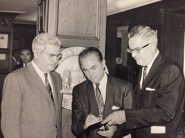 George Wallace and Gen. Curtis LeMay