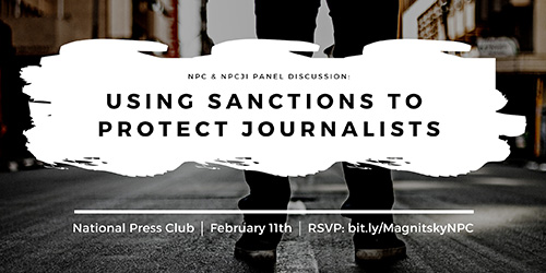 Using Sanctions to Protect Journalists