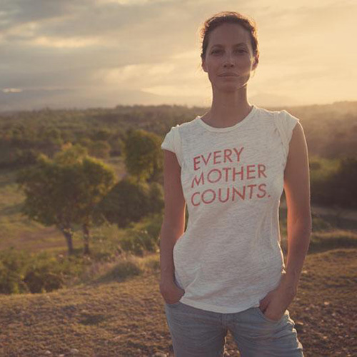 Christy Turlington Burns - Every Mother Counts
